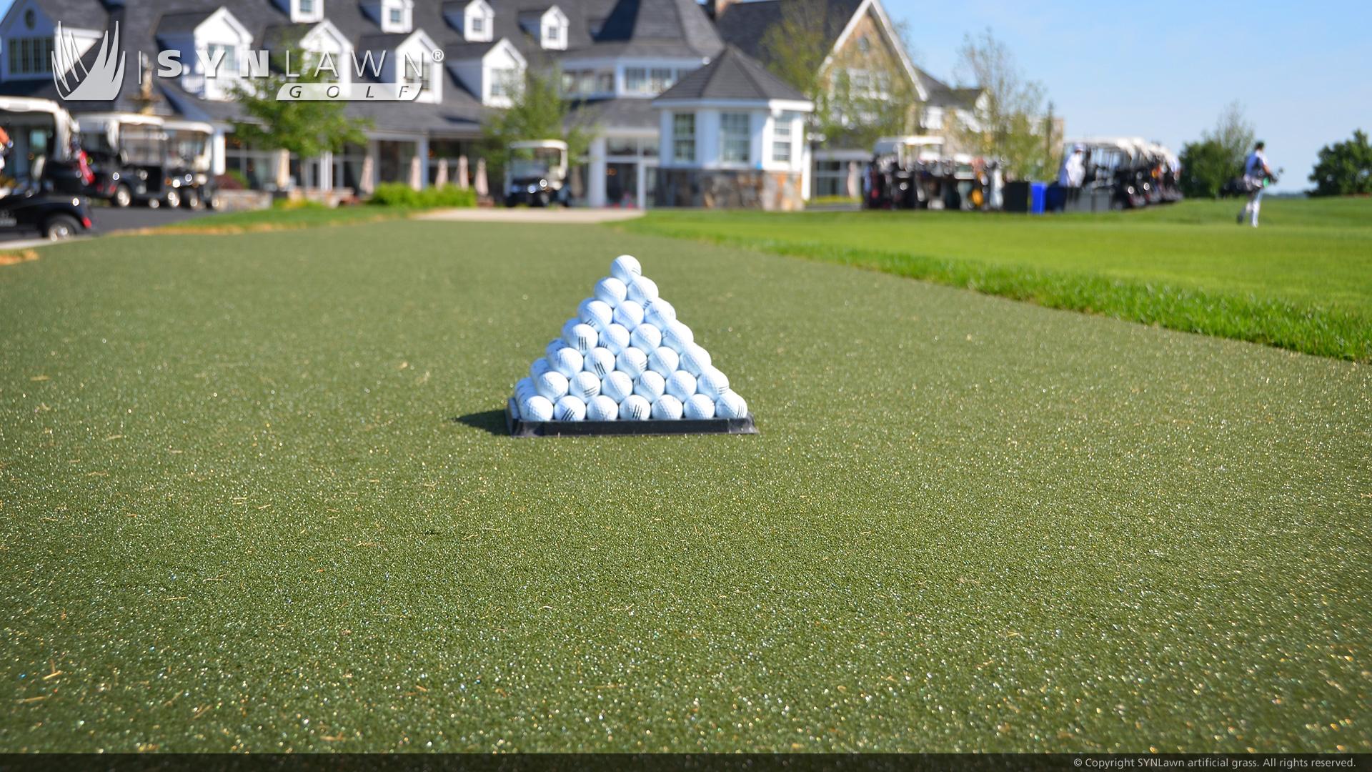 Artificial Grass Golf Tee Line